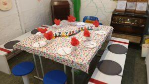 Wir feiern Kindergeburtstag!